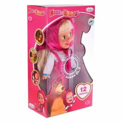 Кукла Маша И Медведь Классический Наряд 30 См. Карапуз Y83030