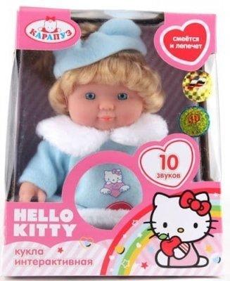 Кукла интерактивная HELLO KITTY 24 см. КАРАПУЗ 30205-HELLO KITTY