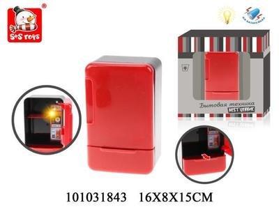 Холодильник со светом на батарейках в коробке S+S Toys 101031843