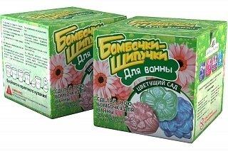 Набор для проведения экспериментов Бомбочки-Шипучки Цветущий сад 732