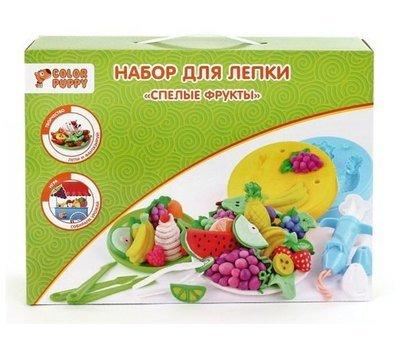 Набор для лепки Спелые фрукты Color Puppy 631026