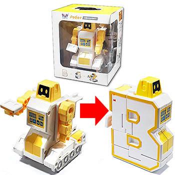 Робот-трансформер 4*8,5см. Yuy leyou Toys  K11702