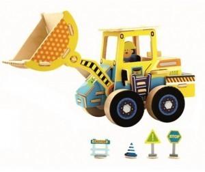 Деревянный 3D пазл ROBOTIME 44 детали VE202