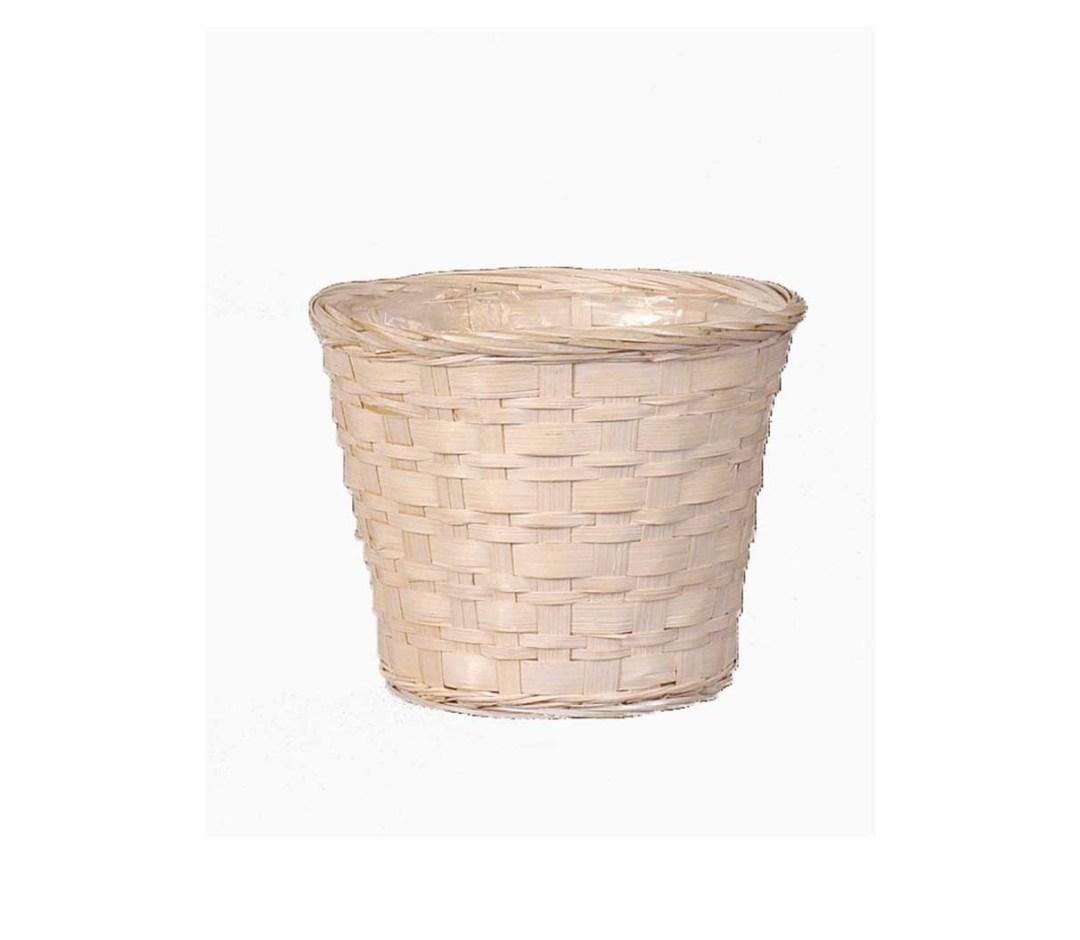 """MS1745-8WW - 8"""" WW Bamboo Pot Sewn In Liner ( Fits 7"""" pot, 7.25"""" depth) MS1745-8WW"""