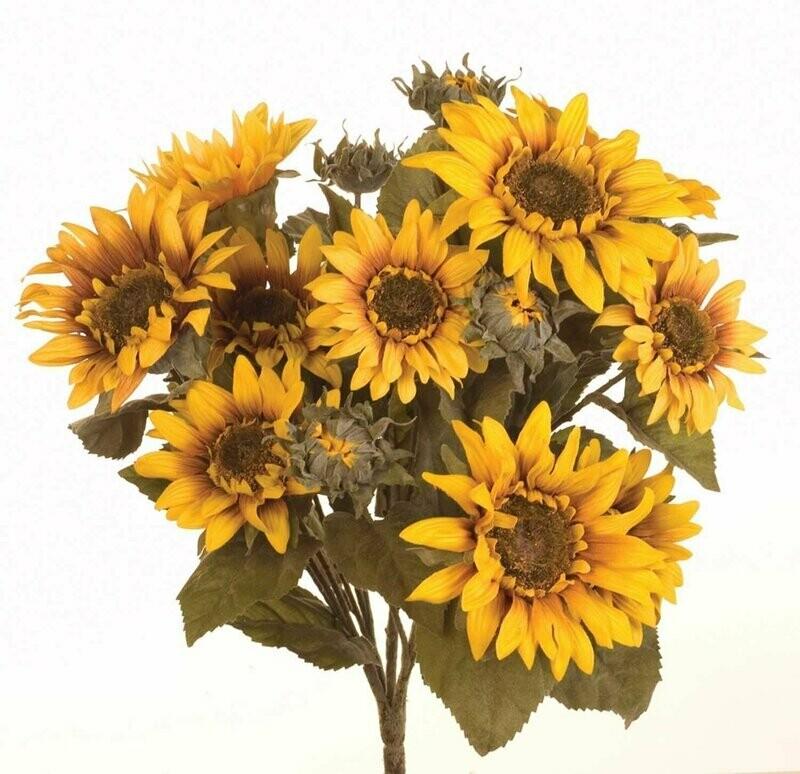 SBF04501 - Large Sunflower Bush X17 $16.95 each