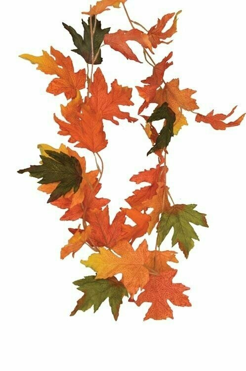 SB2022-6 - 6' Mix color Fall Garland