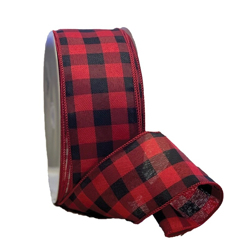 ​BUFF40 - #40 Buffalo Plaid red/black
