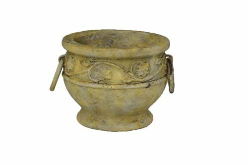 "CP3255 - 5.5"" High Heavy Stoneware Decor Planter CP3255"