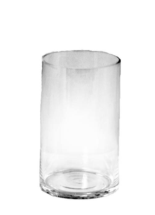 "GP3141-8 - 6"" X 8""Tall Round Glass Cylinder GP3141-8"