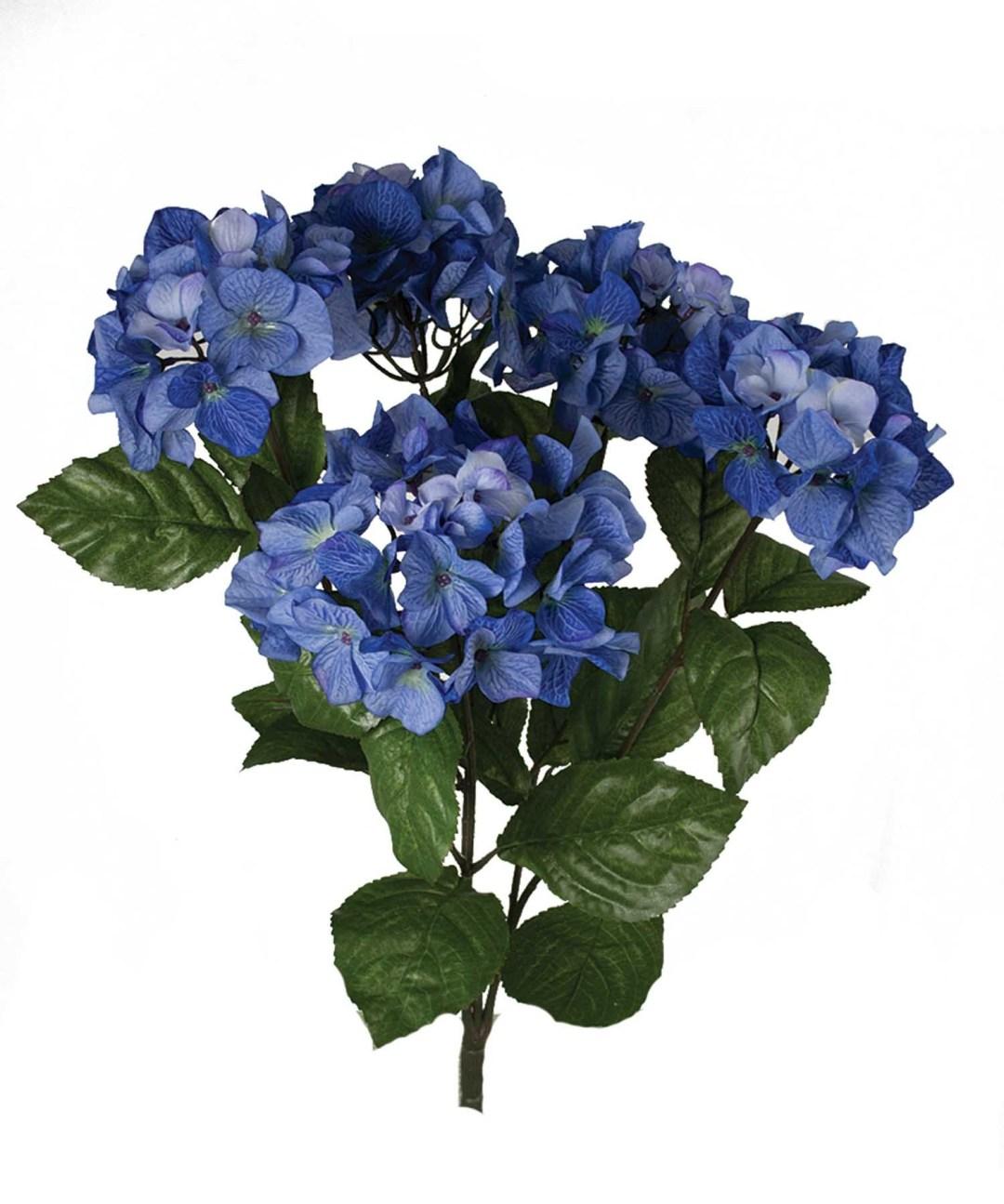 """SB0301BLUE - 23"""" Hydrangea Bush x5 $10.95 each SB0301BLUE"""