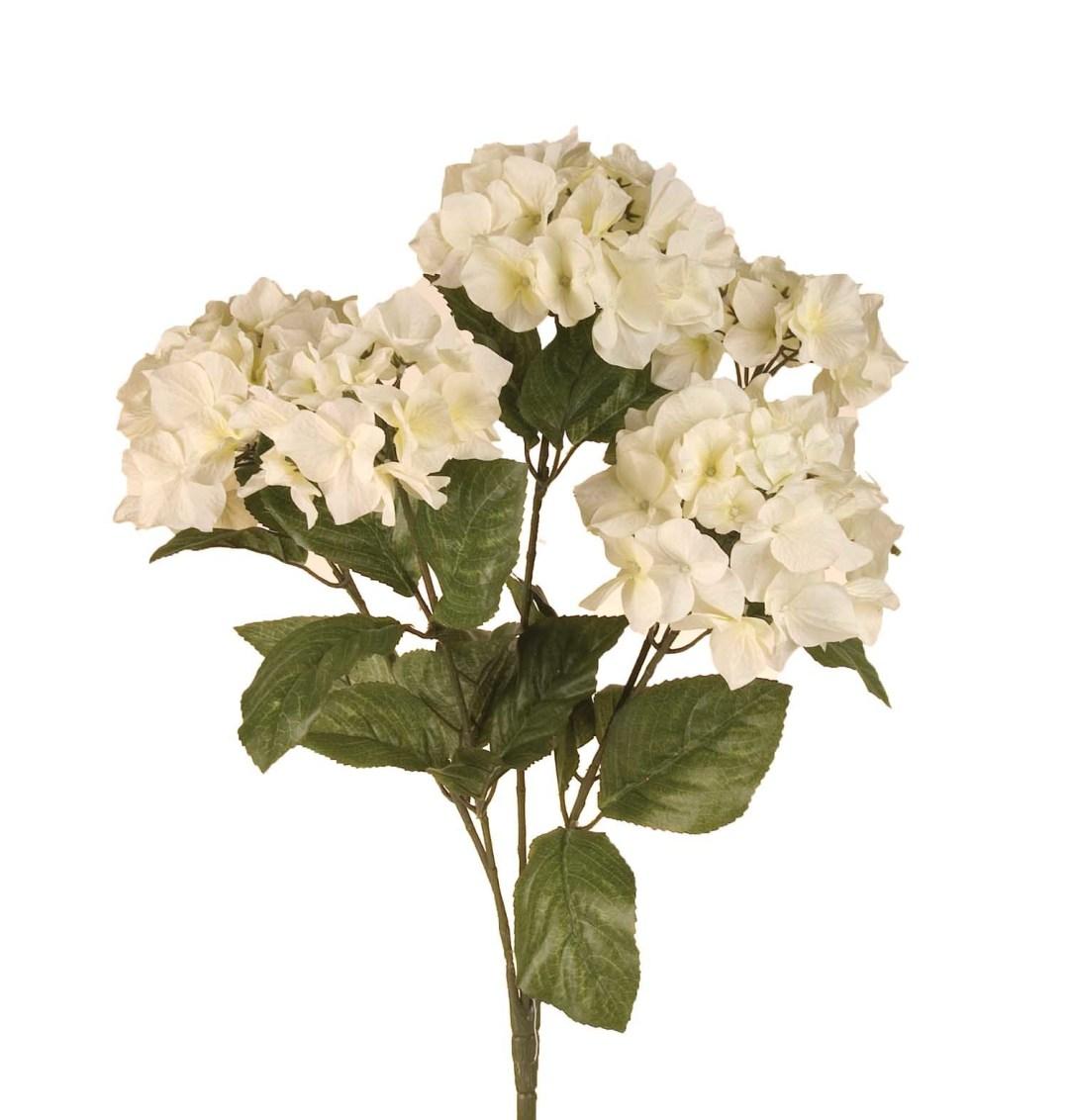 "SB0301CREAM - 23"" Hydrangea Bush x5 $10.95 each SB0301CREAM"