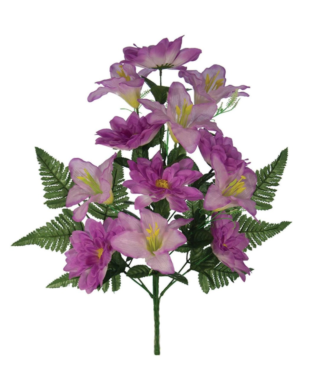 "SB3006LAV -18"" One Sided Open Lily / Dahlia Mix x12 $3.95 each SB3006LAV"