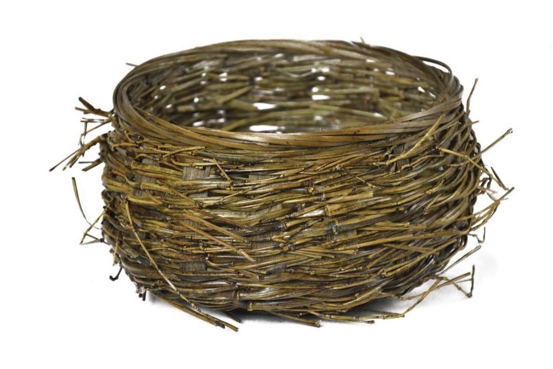 "MS1151 - Large Birds Nest Basket with 6"" Opening $3.95 each MS1151"
