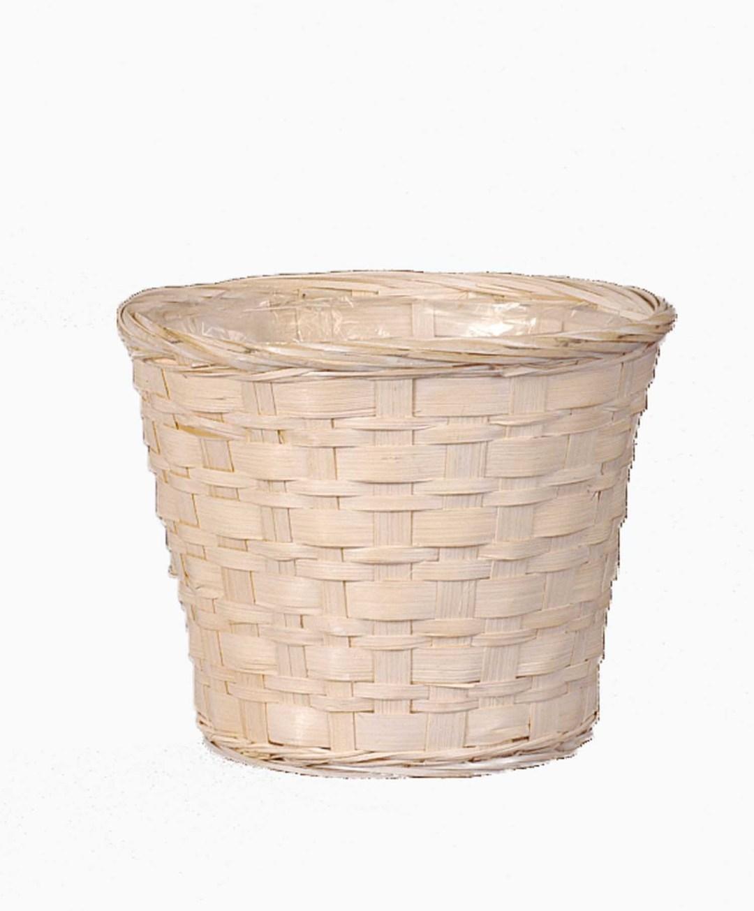 """MS1745-12WW - 12"""" WW Bamboo Pot Sewn In Liner ( fits 10"""" pot) MS1745-12WW"""