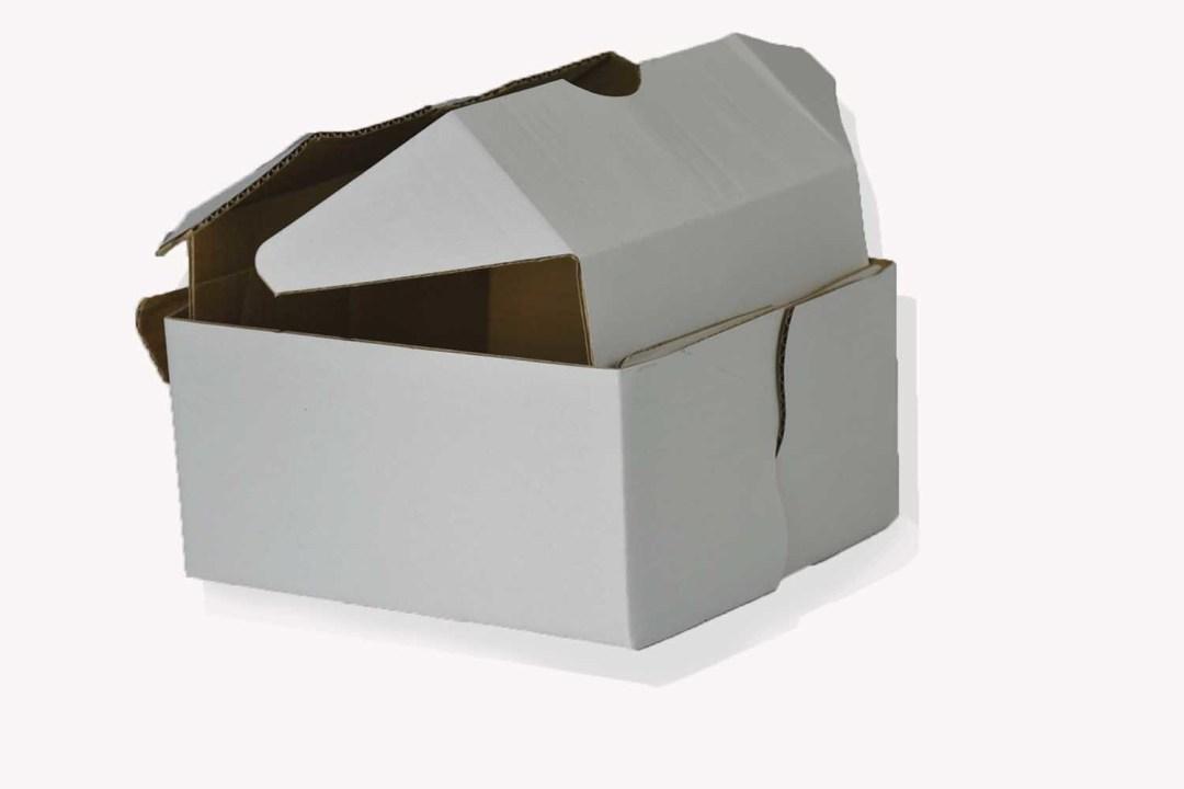 "BX008 - 7"" X 7"" X 3.75"" Medium Corrugated Adjustable Packer With Wax Bottom 100/ pc per box $82.50 BX008"