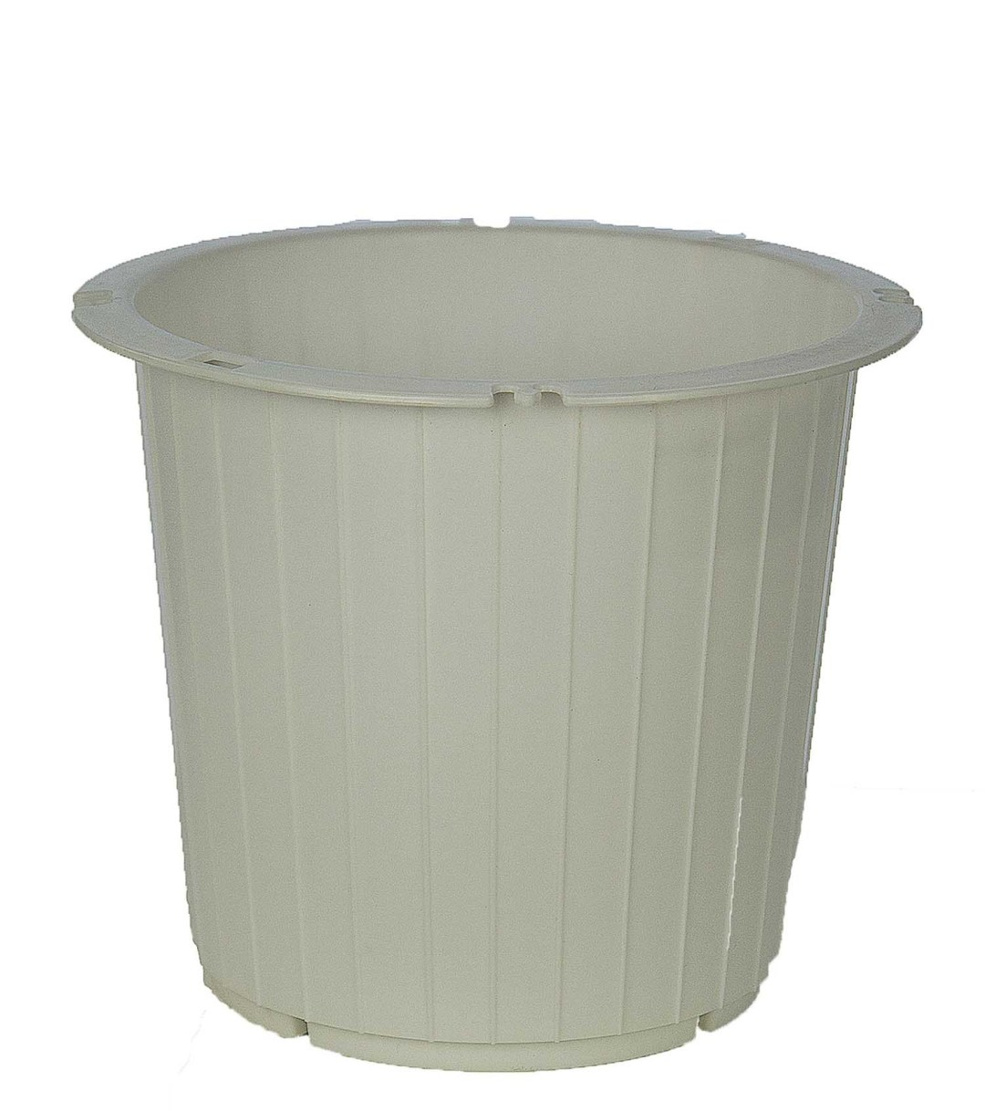"""PL8014WT - White Utility Pot With 7.25"""" Opening $84.00 (box of 48) PL8014WT"""