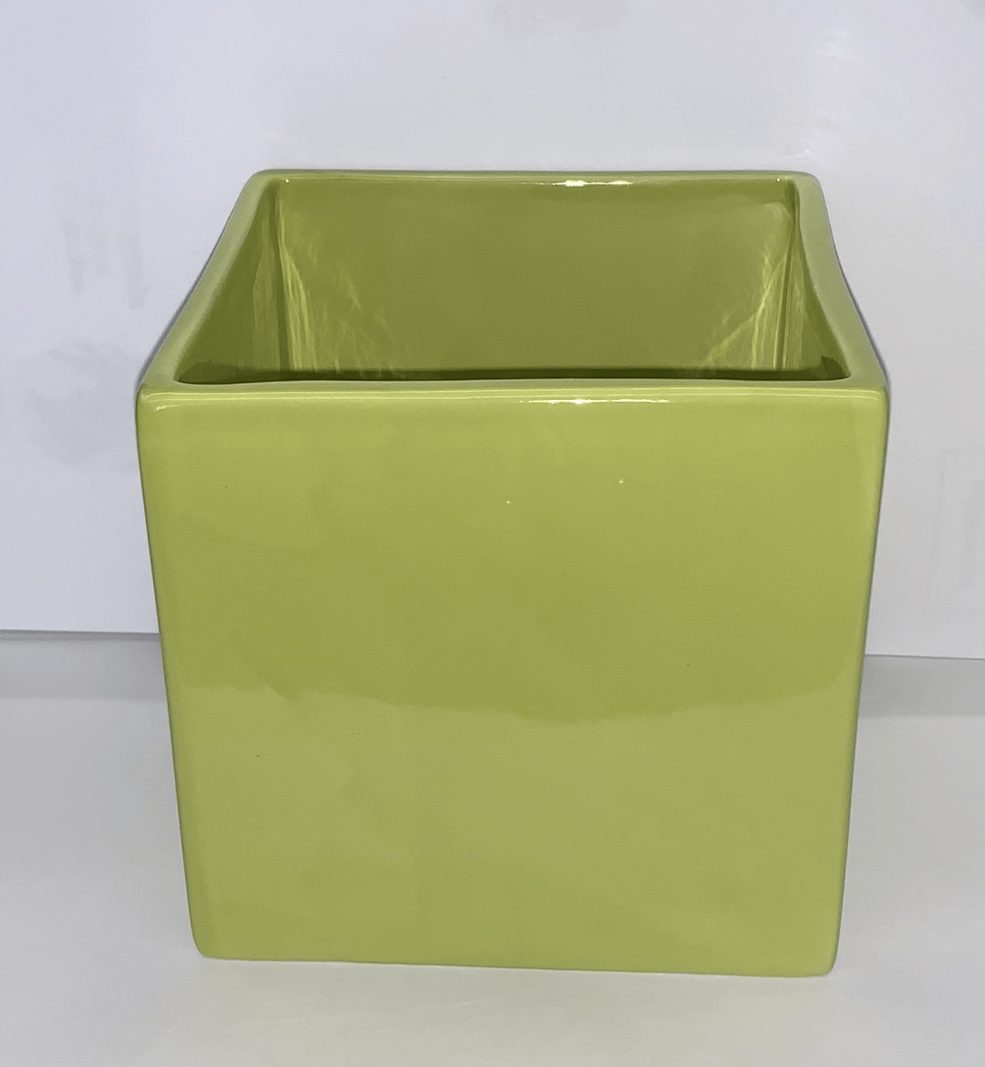 "CP1545-4GRN -  4.5"" Green Ceramic Block 00000"