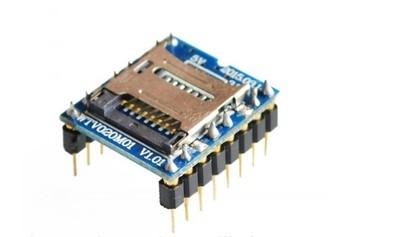 Modul MP3 mini WTV020 card MiniSD