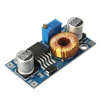 Modul coborator tensiune XL4005, 5-36VDC, 5A, 75W