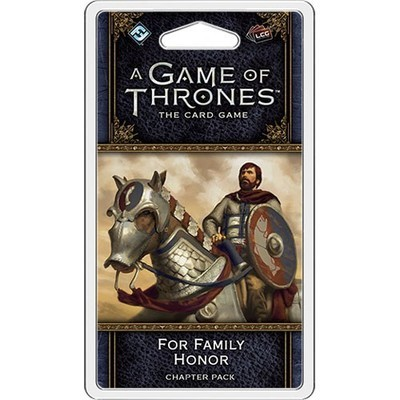 A Game Of Thrones Lcg For Family Honor