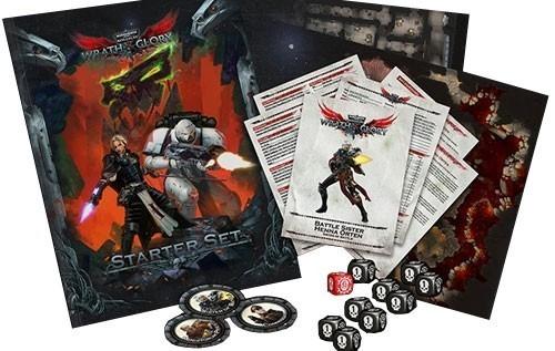 Warhammer 40k Wrath And Glory Starter