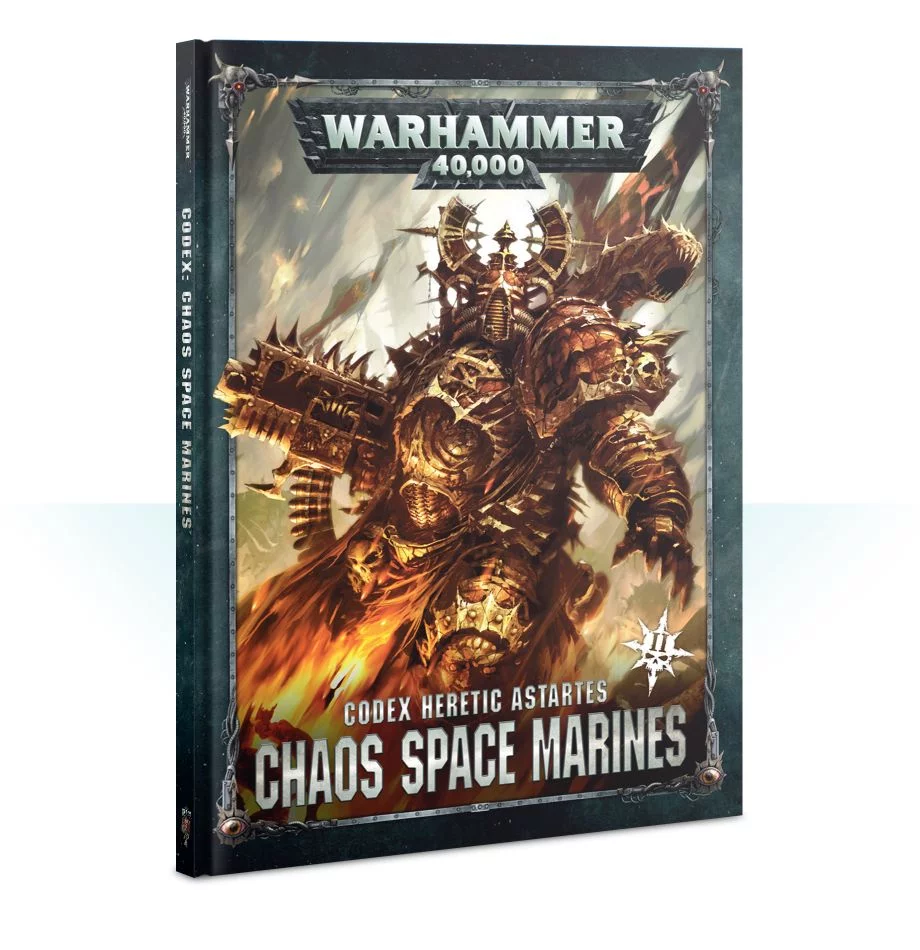 CODEX: CHAOS SPACE MARINES 2 (ENGLISH) 1B3V6R78Y5DX2