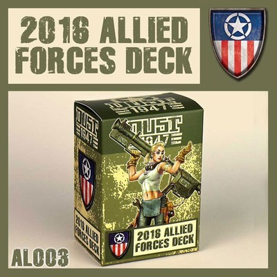 Dust 1947-Allied Forces Deck