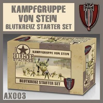 Dust 1947-Blutkreuz Starter Set Kampfgruppe Von Stein