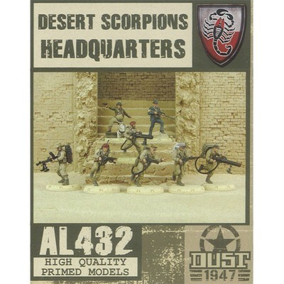 Dust 1947-Desert Scorpions Headquarters