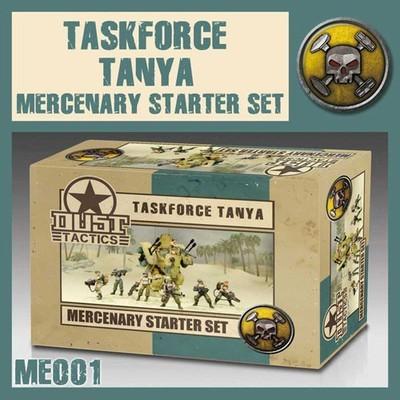 Dust 1947-Mercenary Starter Set Taskforce Tanya