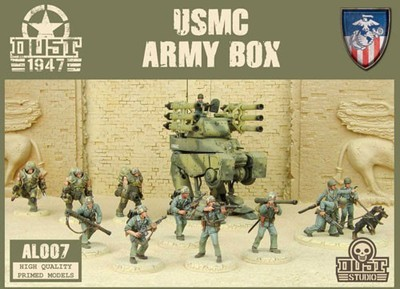 Dust 1947-USMC ARMY BOX