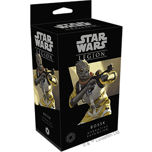 Star Wars Legion Bossk
