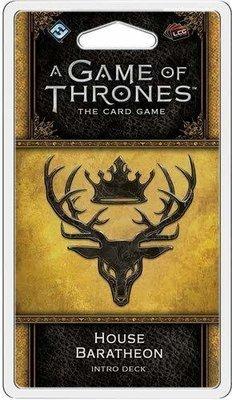 A Game Of Thrones LCG House Baratheon Intro Deck