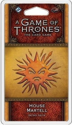 A Game Of Thrones LCG House Martell Intro Deck