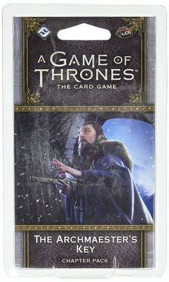 A Game Of Thrones Card Game The Archmaester's Key