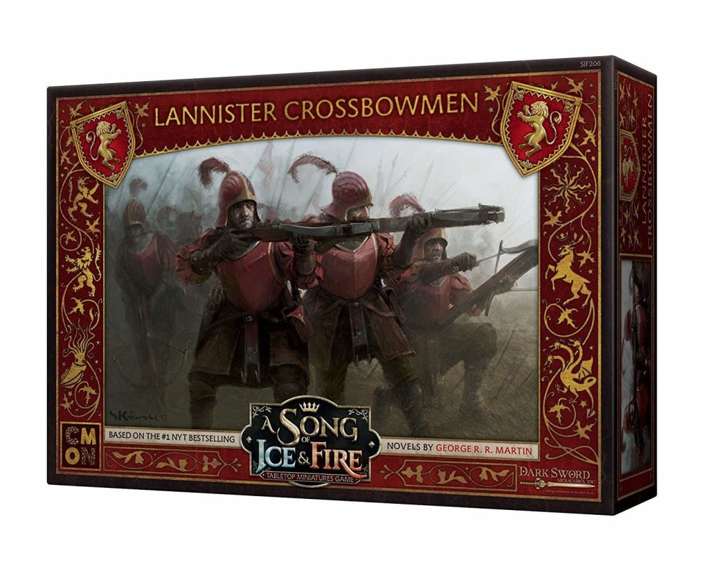 A Song of Ice and Fire Lannister Crossbowmen 6CXN8Z991TMNR