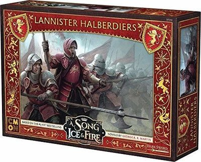 A Song of Ice and Fire Lannister Halberdiers