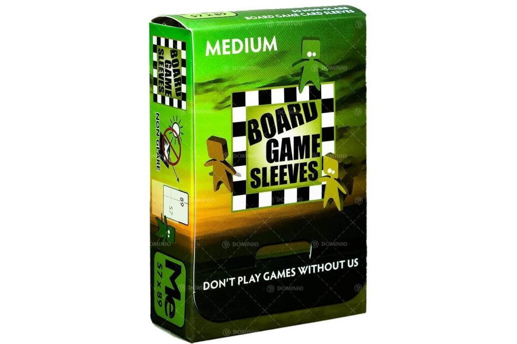 Board Game Sleeves: Non-Glare - Medium (50ct)
