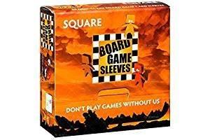 Square Board Game 50 Sleeves GCREV5JK1SZNM