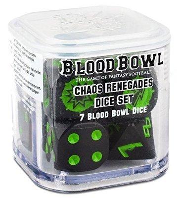 Blood Bowl Chaos Renegades Dice Set