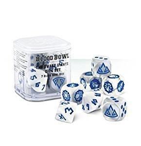 Blood Bowl Dwarf Giants Dice