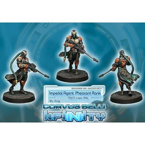Infinity: Yu Jing Imperial Agent, Pheasant Rank (Sniper)