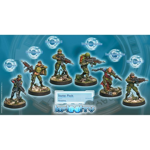 Infinity: Ariadna - Starter Pack 3DVNHY0YG01KW