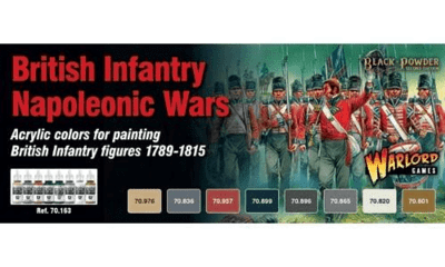 British Infantry Paint Set