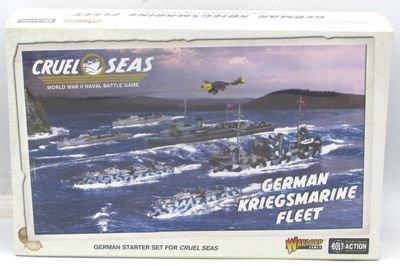 Cruel Seas German Kriegsmarine Fleet