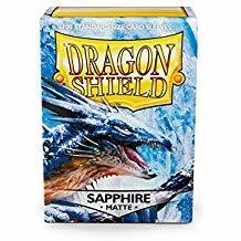 Dragon Shield Sleeves Matte Saphire