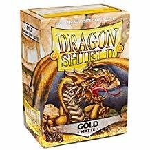 Dragon Shield Sleeves Matte Gold