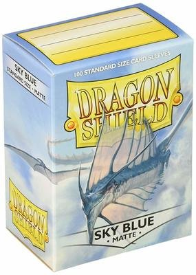 Dragon Shield Sleeves Matte Sky Blue