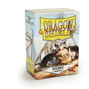 Dragon Shield Sleeves Matte Ivory