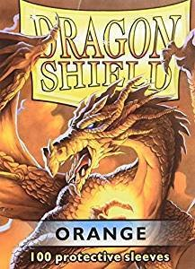 Dragon Shield Sleeves Orange